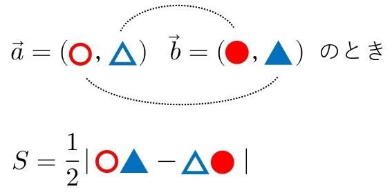 平面ベクトル 公式 三角形 成分