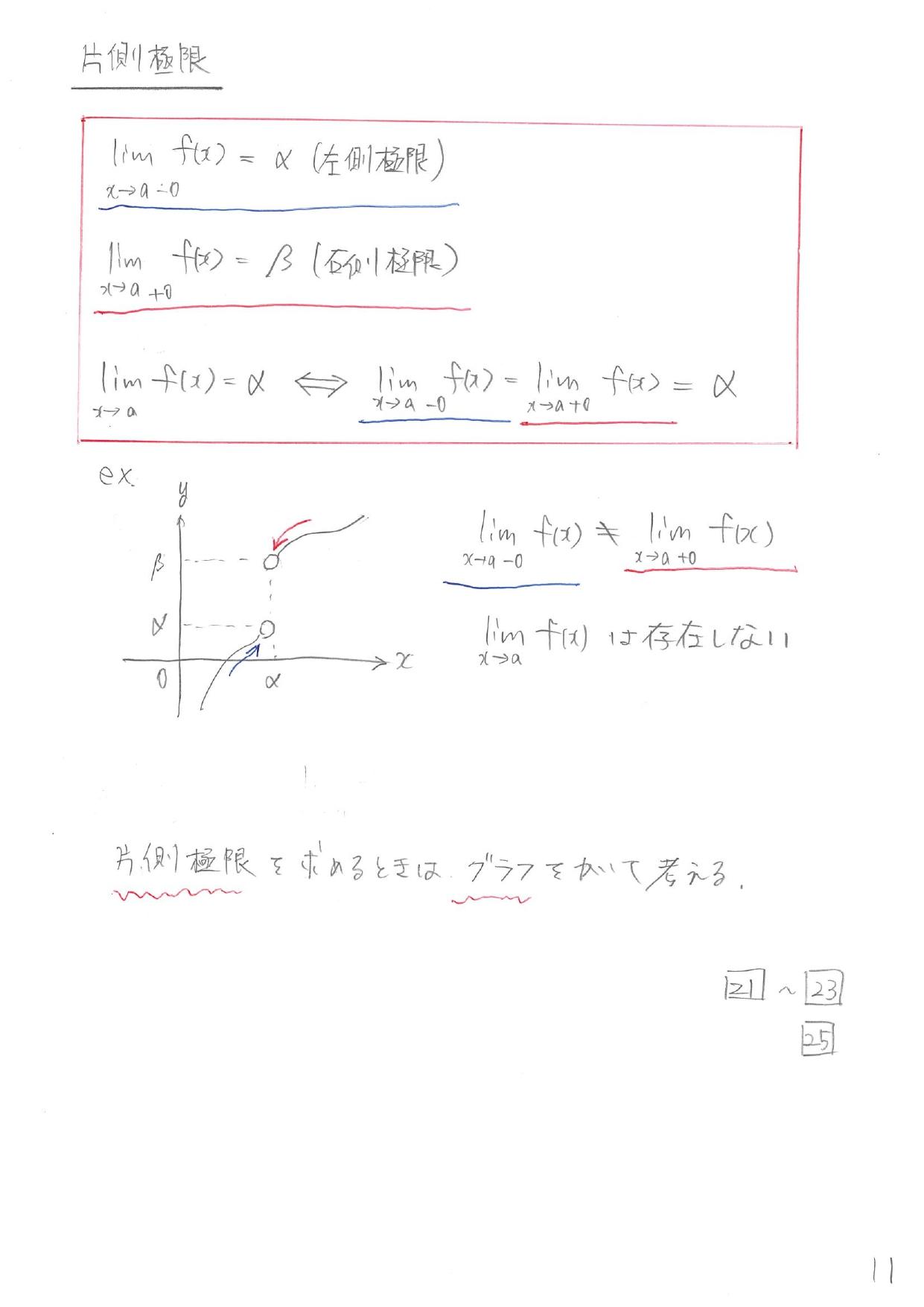 数Ⅲ 極限 まとめ 一覧 解説 公式